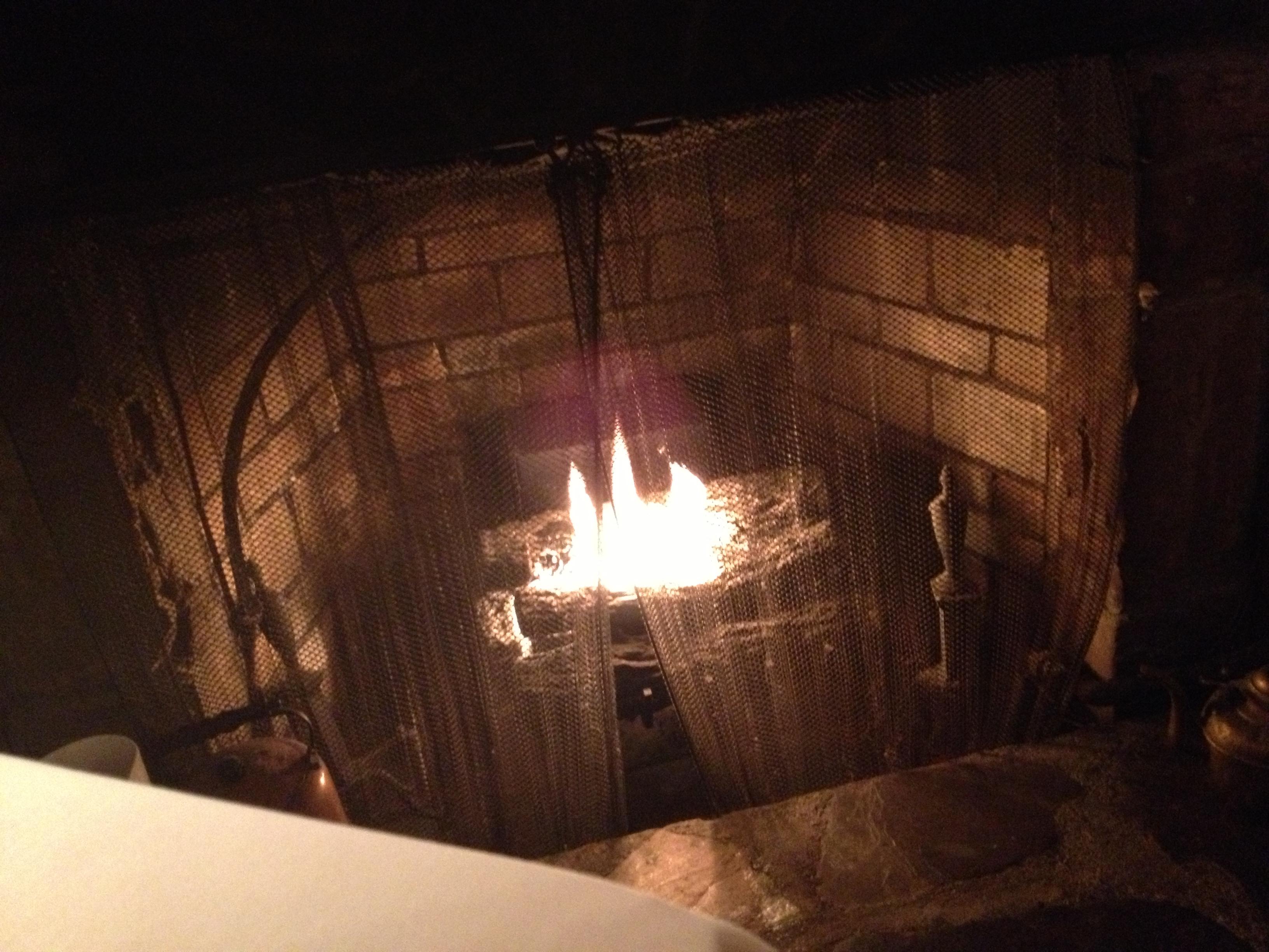 The Wishing Well fireplace